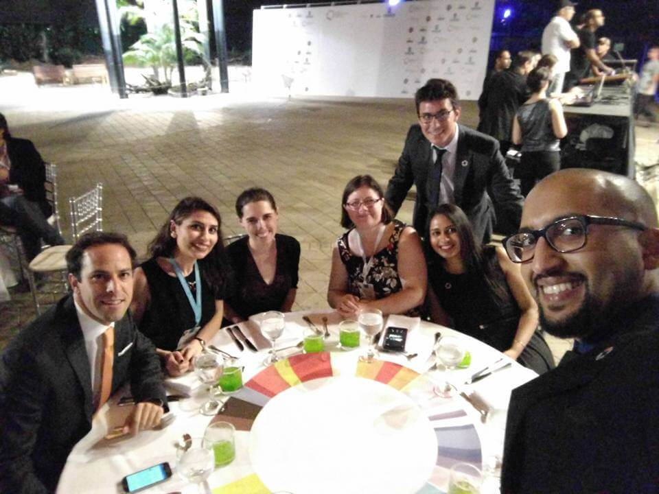 GEC Gala International Table