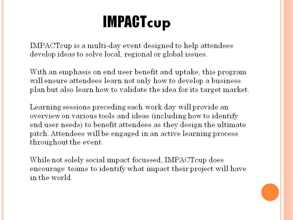 impactcup-overview