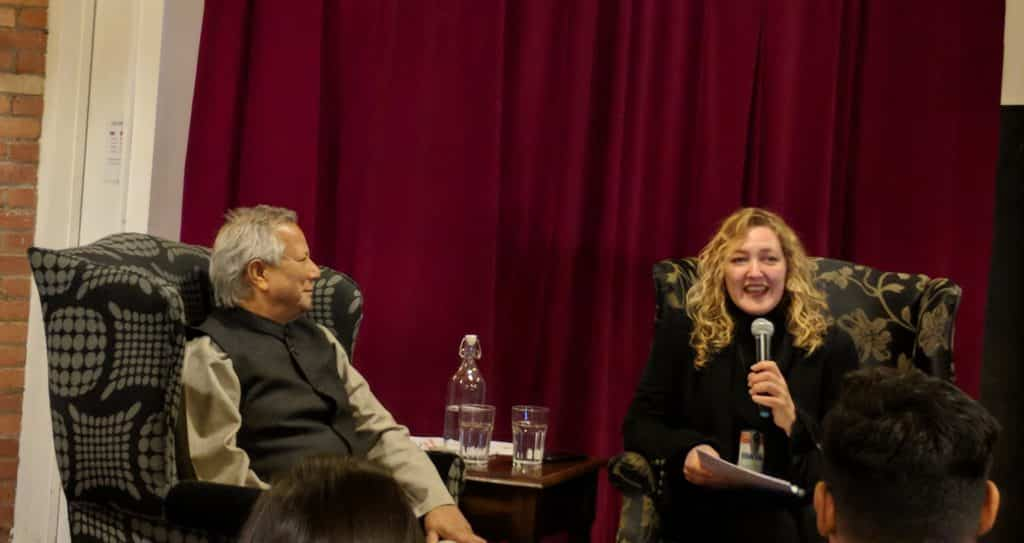 Tonya Surman and Muhammad Yunus