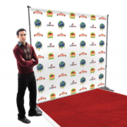 Telescopic backdrop color