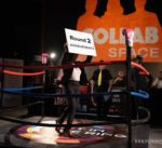 Pitch In A Boxing Ring